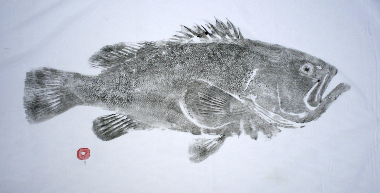 East end fish prints gallery for Big fish screen printing